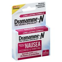 Dramamine N, 25 mg, Tablets