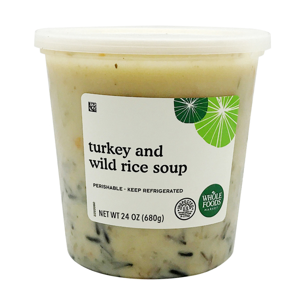 Turkey And Wild Rice Soup, 24 oz
