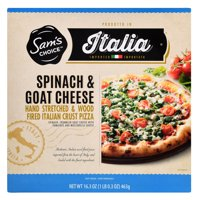 Sam's Choice Italia Spinach and Goat Cheese Frozen Pizza