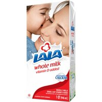 LALA UHT Ultra-Pasteurized Whole Dairy Milk – High in Calcium and Protein, Great Source of Vitamin D, 32 oz.