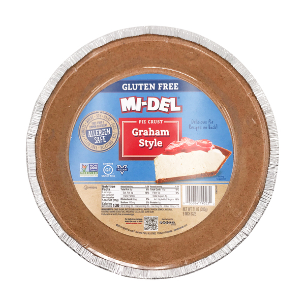 Mi-del Graham Style Pie Crust, 7.1 oz