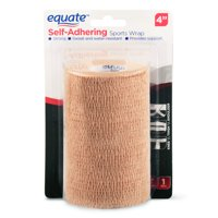 "Equate Self-Adhering Sports Wrap, 4"" X 2.2 yds"