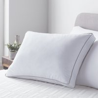 LUCID Flex Loft Pillow with Removable Memory Foam Core, Standard/Queen