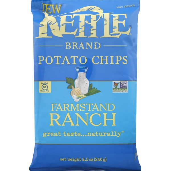 Kettle Brand Potato Chips, Farmstand Ranch