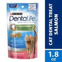 Purina DentaLife Cat Dental Treats, Savory Salmon Flavor - 1.8 oz. Pouch