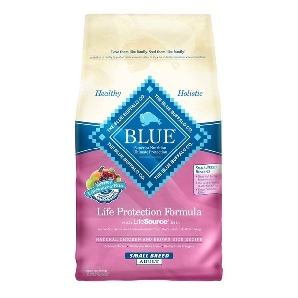 Blue Small Breed Life Protection Formula Chicken & Brown Rice Adult Dog Food