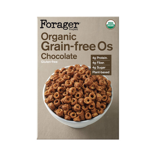 Forager project Organic Grain-Free Gluten-Free Chocolate Cereal, 8 oz