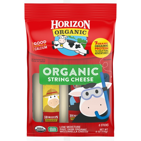 Horizon Organic Mozzarella Organic String Cheese Sticks