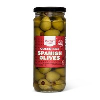 Queen Size Spanish Olives - 10oz - Market Pantry™