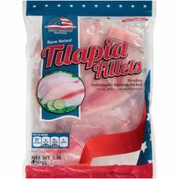 Great American Seafood Llc Farm Raised Skinless Tilapia Fillets