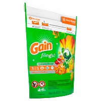 Gain flings! Laundry Detergent Pacs Island Fresh