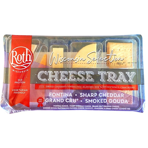Roth Wisconsin Selection Cheese Tray