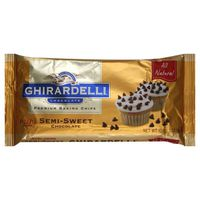 Ghirardelli Chocolate Mini Baking Chips Semi-Sweet Chocolate