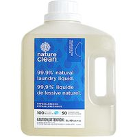 Nature Clean Fragrance-Free Natural Laundry Liquid