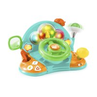 Bright Starts Lights & Colors Driver Toy with Melodies, Ages 6 months +