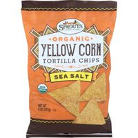 Sprouts Organic Sea Salt Yellow Corn Tortilla Chips