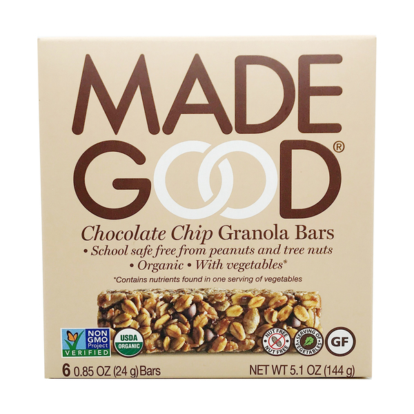 Made good Chocolate Chip Granola Bars, 5.1 oz