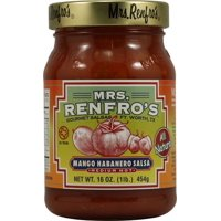 Mrs. Renfro's Habanero Salsa Medium Hot Mango 16 oz