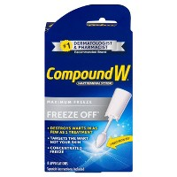 Compound W Freeze Off Wart Removal Treatment - 8 Applications