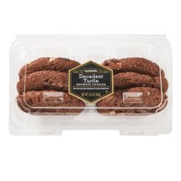 Marketside Decadent Turtle Brownie Cookies, 6 count, 13.5 oz