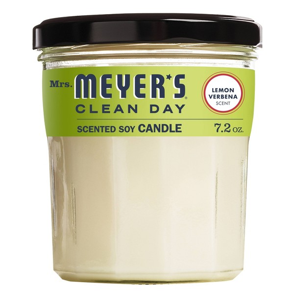 Mrs. Meyer's Lemon Verbena Large Jar Candle