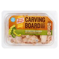 Oscar Mayer Carving Board Southwestern Seasoned Grilled Strips Chicken Breast