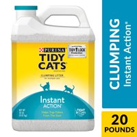 Purina Tidy Cats Clumping Cat Litter, Instant Action Multi Cat Litter, 20 lb. Jug