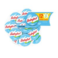 Mini Babybel Light Semisoft Cheese, 0.75oz 12 count