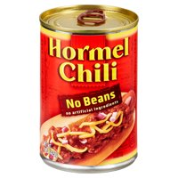 Hormel Chili No Beans, 15 Ounce