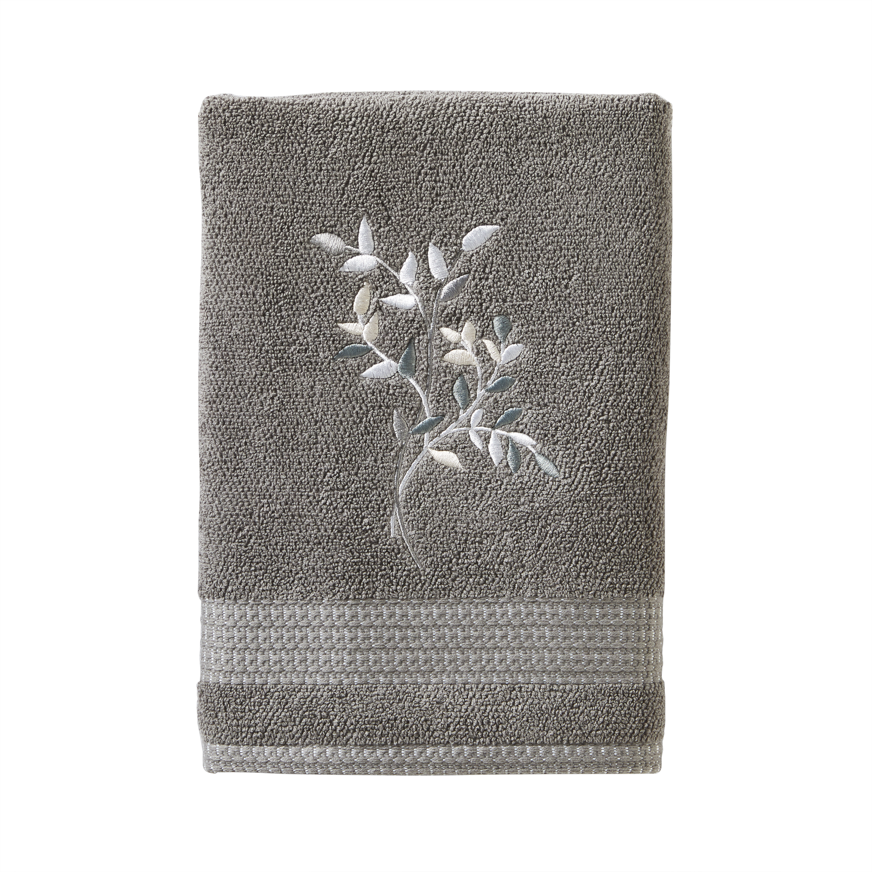 Mainstays Arbor Leaves Bath & Hand Towel Collection