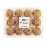 Freshness Guaranteed Mini Blueberry Muffins, 12 oz, 12 Count