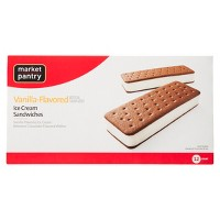 Ice Cream Sandwich - 12pk - Market Pantry™