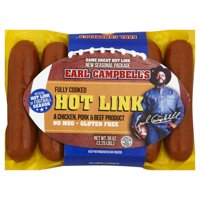 Earl Campbell's Hot Sausage Link, 36 Oz.