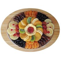 Vacaville Oval Dried Fruit Tray, 36 oz