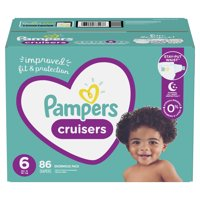 Pampers Cruisers Active Fit Diapers, Size 6, 86 Ct