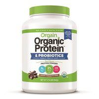 Orgain Organic Protein Powder Chocolate, 2.74 lb