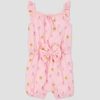 Baby Girls' Ladybug Romper - Just One You® made by carter's Pink