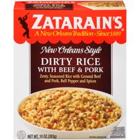 Zatarain's Frozen Dirty Rice With Beef And Pork, 10 oz
