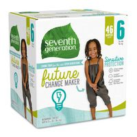 Seventh Generation Diapers, 6 (35+ lbs)