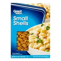 Great value small shells pasta, 16 oz