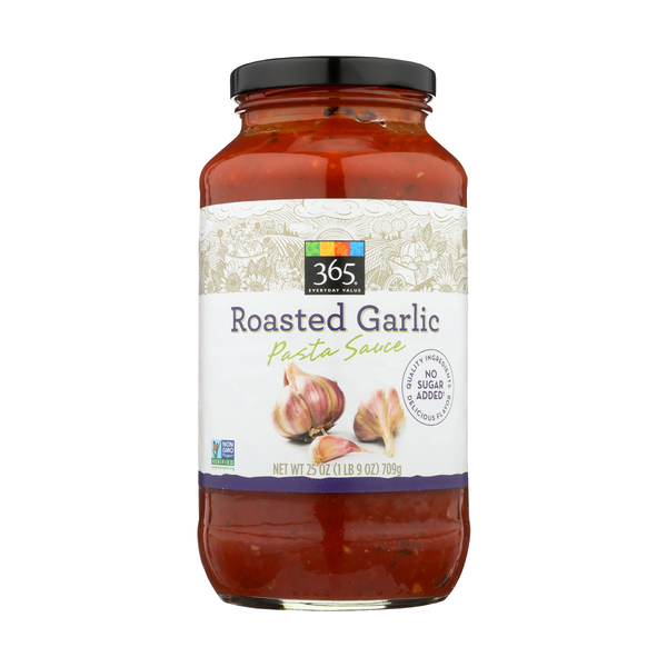 365 Everyday Value® Roasted Garlic Pasta Sauce, 25 oz