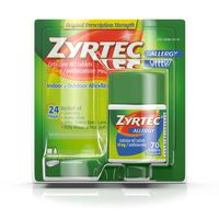 Zyrtec Tablets, 70 Count