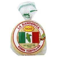 "La Banderita Yellow Corn 6"" Tortillas, 30 ct (Pack of 12)"