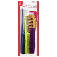 Donna Family Comb Assortment - 6ct
