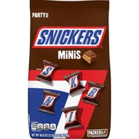 Snickers Chocolate Candy Bars Minis Size