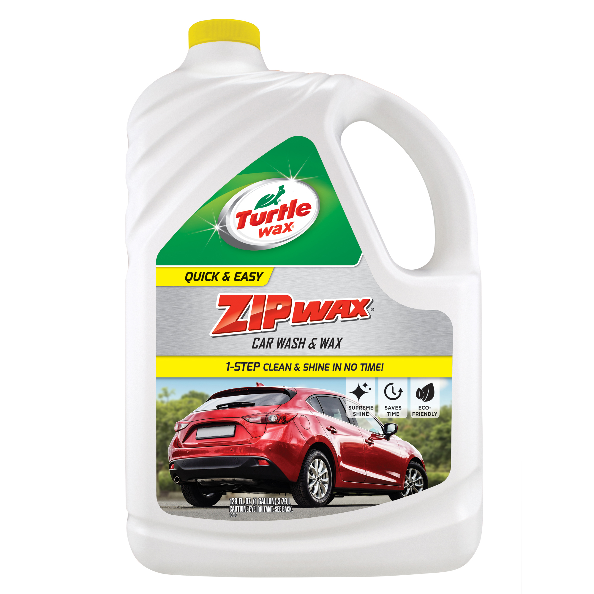 Turtle Wax T-78 Zip Wax Quick and Easy Car Wash and Wax, 1 Gallon