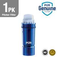 PUR Water Pitcher/Dispenser Replacement Filter with Lead Reduction, 1 Pack, Blue