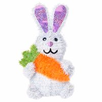 Way To Celebrate Easter Tinsel Decor, Bunny