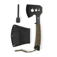 Ozark Trail Stainless Steel Paracord Hatchet with Fire Starter, Model 5003