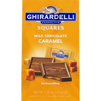 Ghirardelli Chocolate Milk Chocolate Squares with Caramel Filling